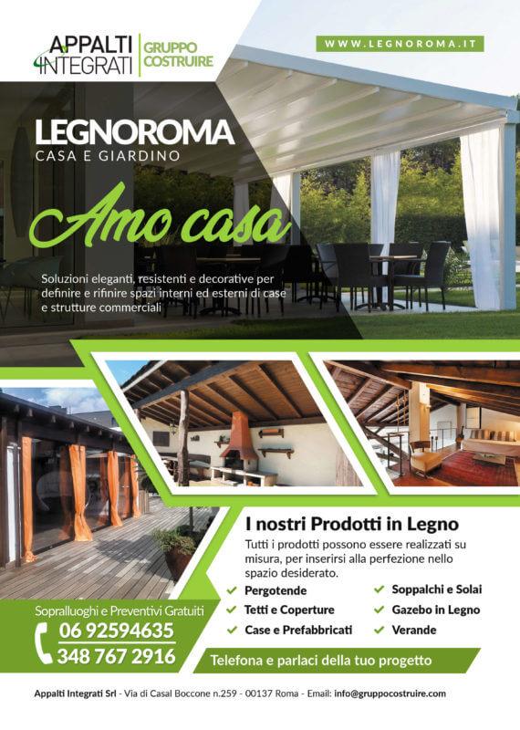 Volantino Legnoroma