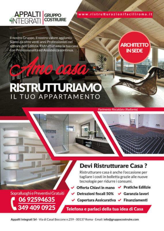 Ristrutturazione case Roma